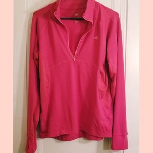 Adidas® Ladies' ½ Zip Pullover size Medium  NWOT